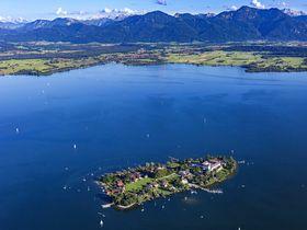 Fraueninsel im Chiemsee ©mw-luftbild.de - stock.adobe.com