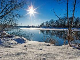 Winterlandschaft Donau © Harald - stock.adobe.com