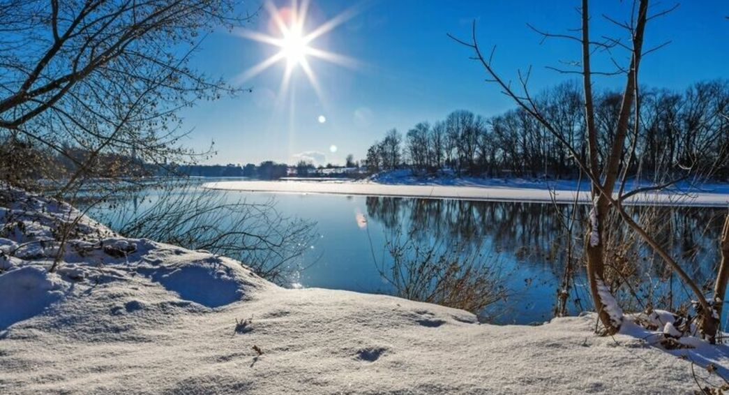 Winterlandschaft Donau © Harald - stock.adobe.com